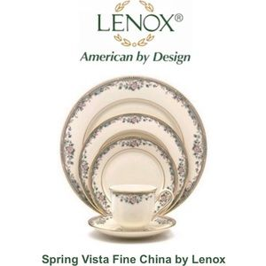 Lenox Spring Vista Fine China set (8 settings)